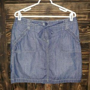 New York & Company Denim Skirt. Size 10
